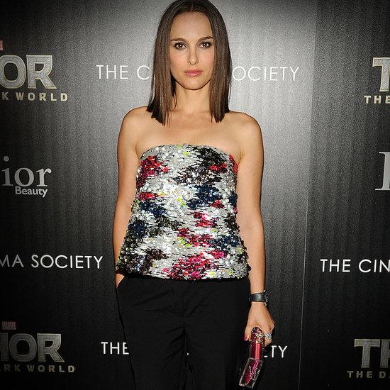 Natalie Portman Red Carpet Dresses For Thor