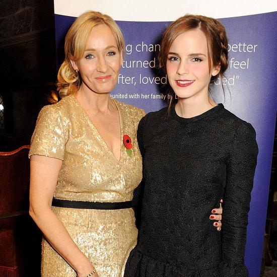 Emma Watson and J.K. Rowling Reunite