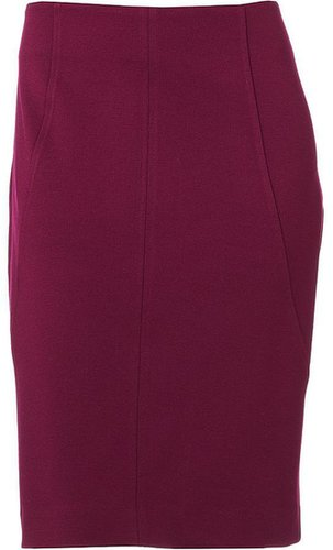 Dana buchman pieced ponte pencil skirt