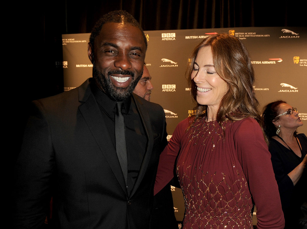 Idris Elba linked up with director Kathryn Bigelow on the red carpet.