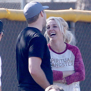 Britney Spears Laughing at Her Son's Soccer Game