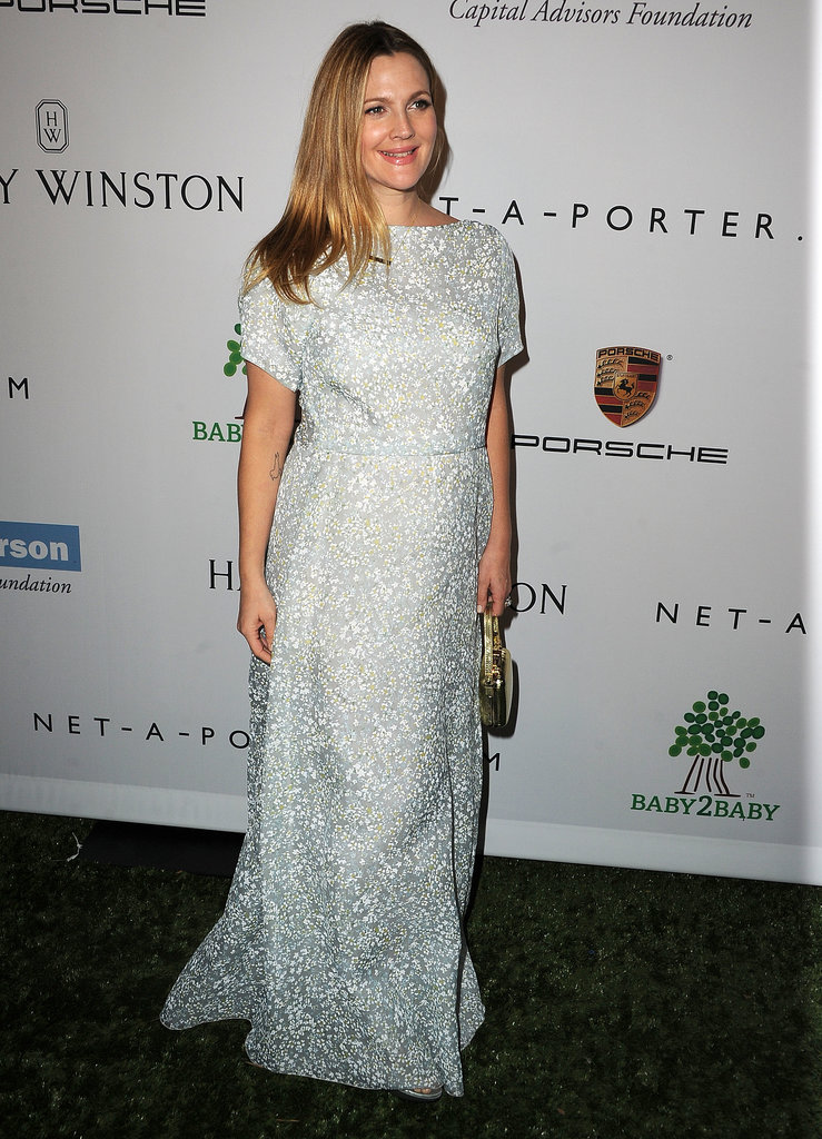 Drew Barrymore arrived at the Baby2Baby Gala in LA.
