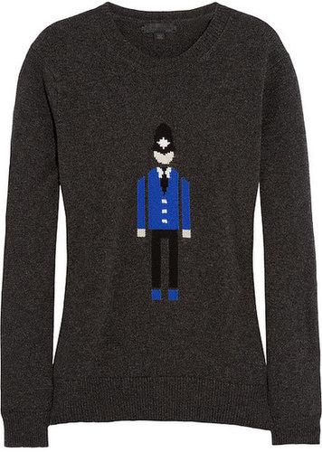 Burberry Prorsum Intarsia cashmere sweater