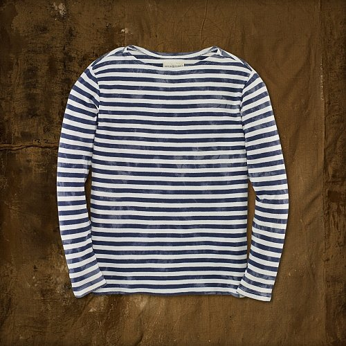 Denim & Supply Striped Boatneck Tee