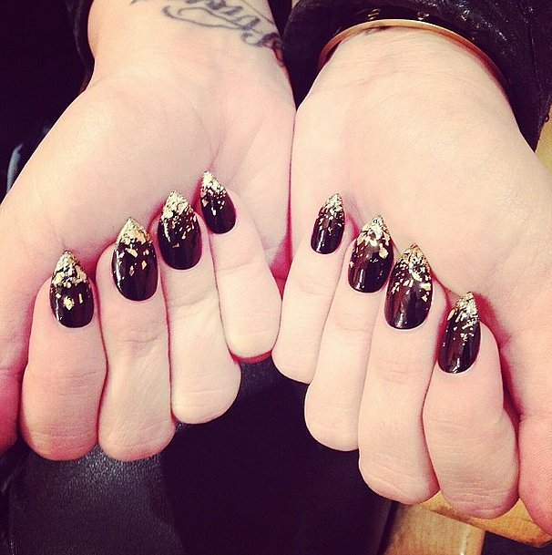 Demi Lovato's nails were so fierce, you may have (almost) missed an appearance by her charming Cartier bangle. Source: Instagram user ddlovato