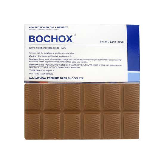 Chocolate + Botox = Bochox