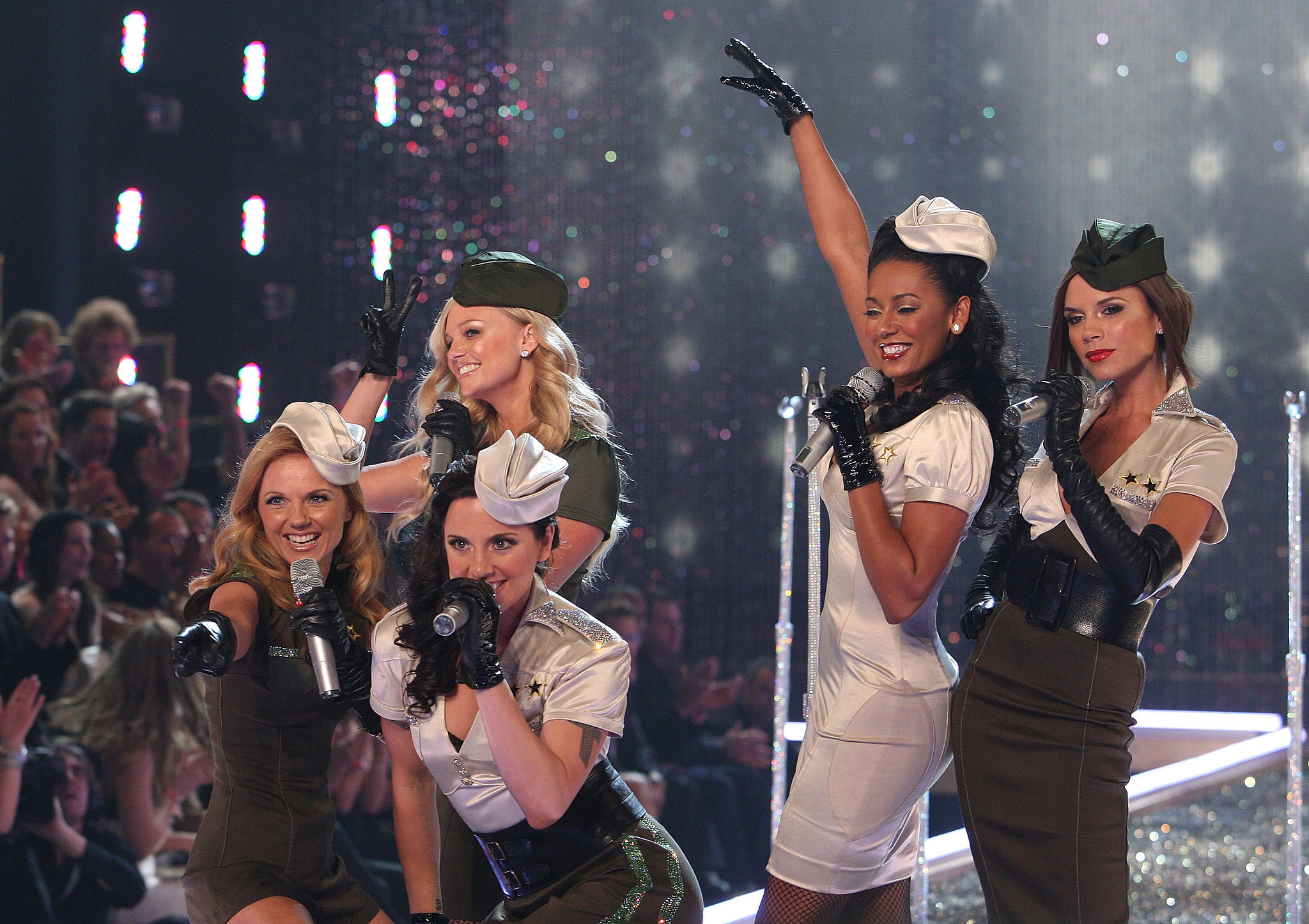 The Spice Girls performing in 2007.