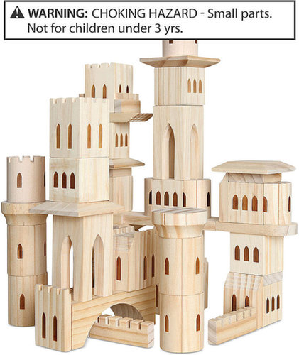 Discovery Kids Toy, Wooden Castle Blocks