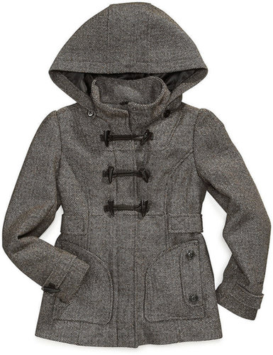 London Fog Kids Coat, Girls Toggle-Front Jacket