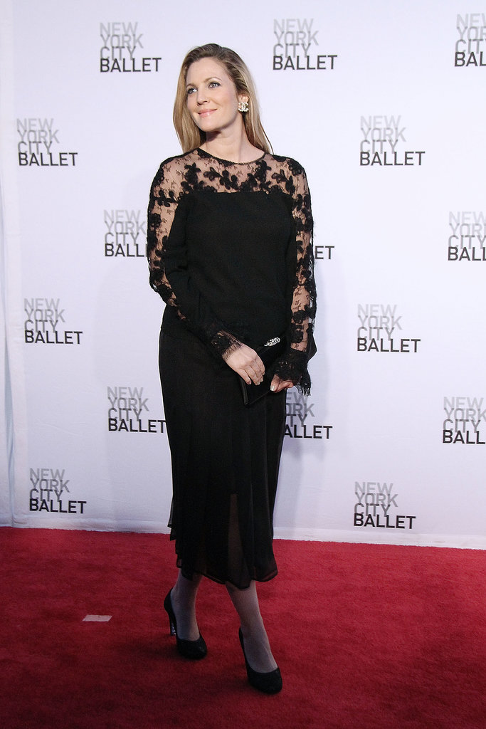Drew Barrymore at the New York City Ballet Fall Gala