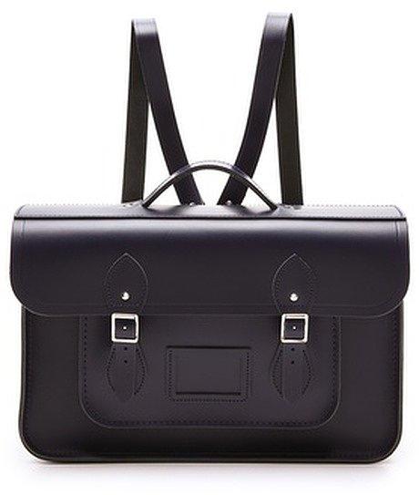 "Cambridge Silversmiths 15"" Satchel Backpack ($205)"