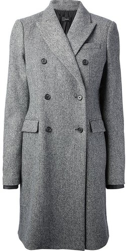 Joseph double breasted overcoat