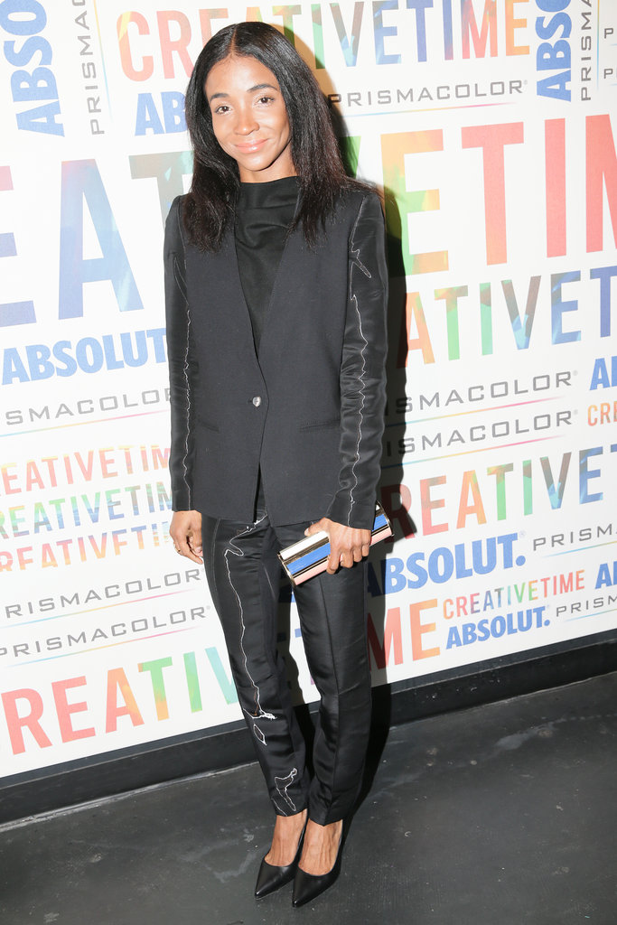 Genevieve Jones at the Creative Time Fall Ball.