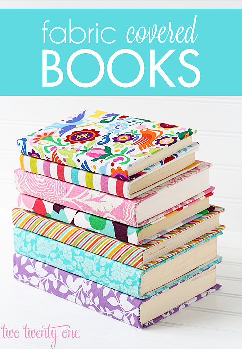 Fabric-Covered Books