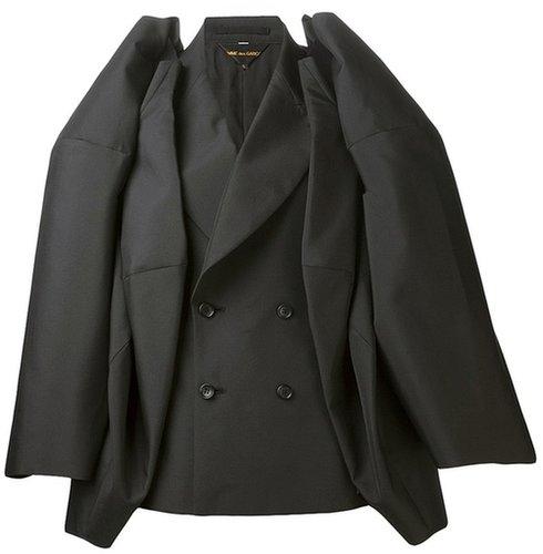 Comme Des Garçons long layered sleeve jacket