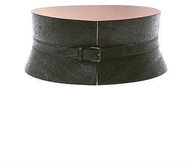 Azzedine Alaïa Wide karung waist belt