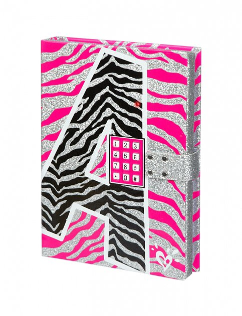 For 9-Year-Olds: Zebra Initial Push-Code Journal
