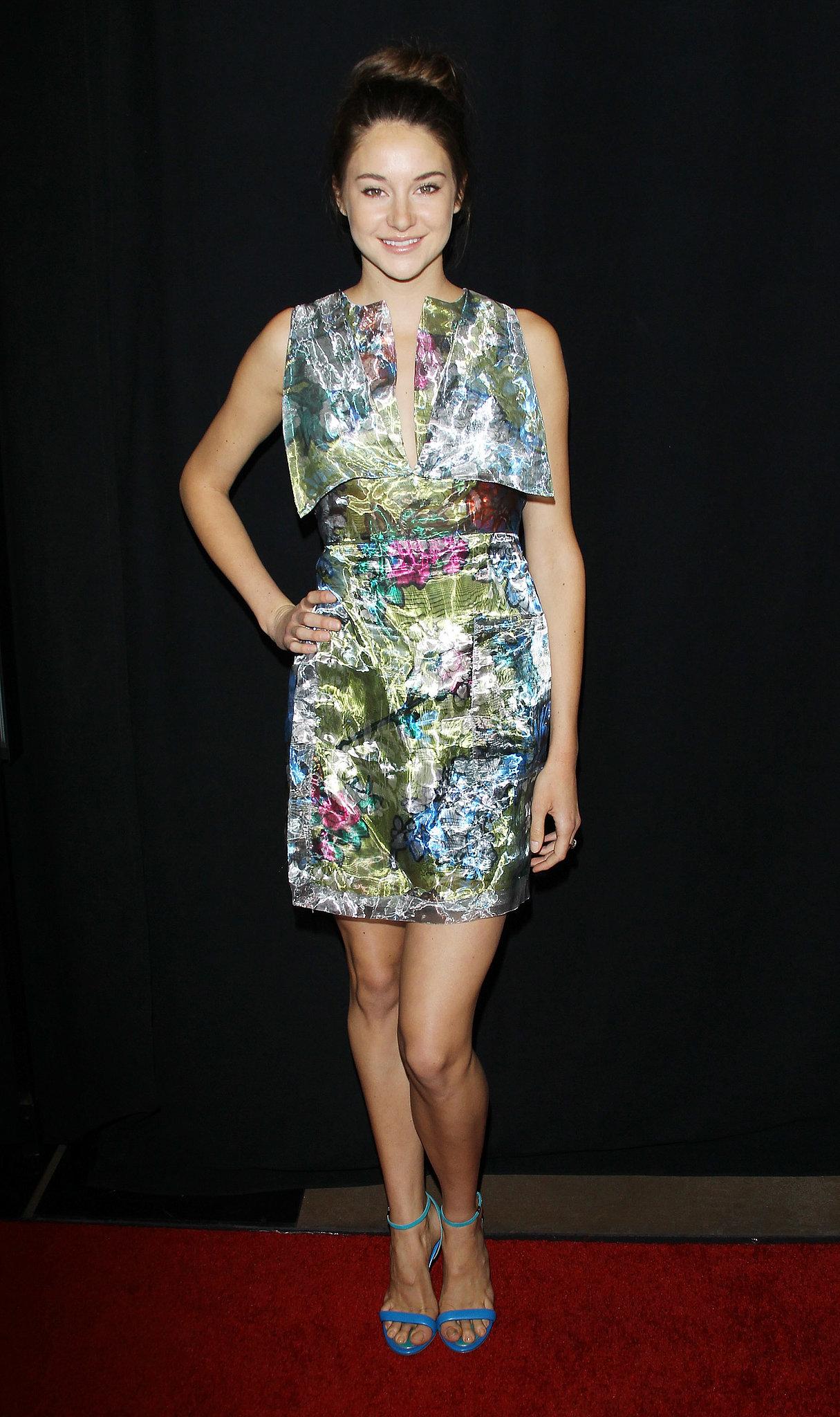 Shailene Woodley in Christopher Kane at the 2012 LA Film Critics Association Awards