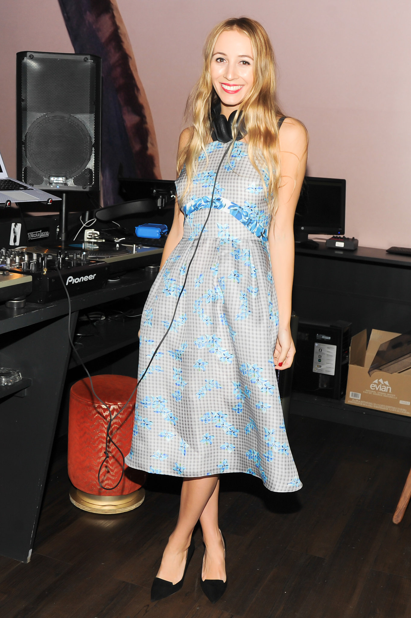 Harley Viera-Newton at the Jimmy Choo collection launch.