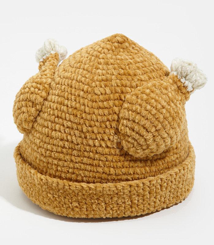 Knit Turkey Hat