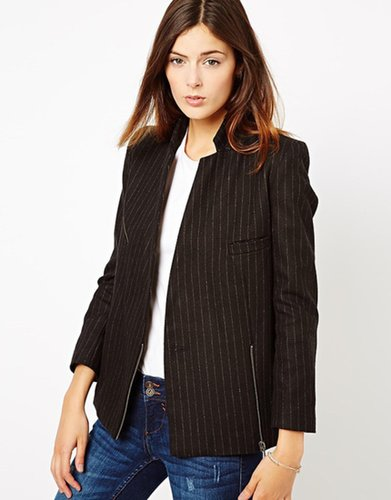 ASOS Premium Blazer in Pinstripe