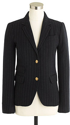 Schoolboy blazer in chalk stripe