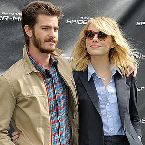 Emma Stone and Andrew Garfield at Amazing Spider-Man 2 Event