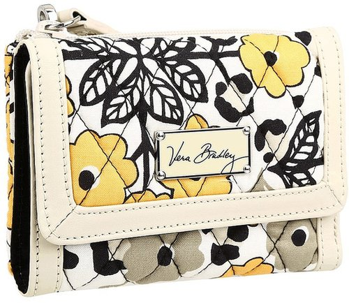 Vera Bradley - Anniversary Wristlet (Go Wild/Off White) - Bags and Luggage