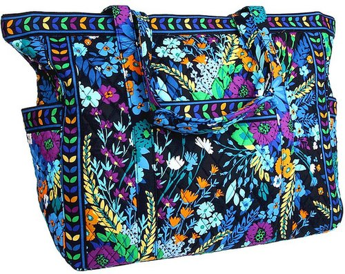 Vera Bradley Luggage - Get Carried Away Tote (Midnight Blues) - Bags and Luggage