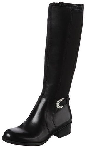 Overstock Naturalizer Women's 'Arness' Black Wide Calf Boots