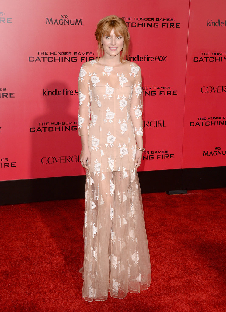 Bella Thorne rocked a lacy look.