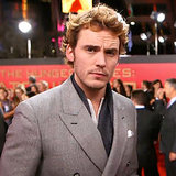 Sam Claflin Interview at Catching Fire LA Premiere (Video)