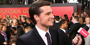 Josh Hutcherson on His First Kiss and SNL Hunger Games Plans
