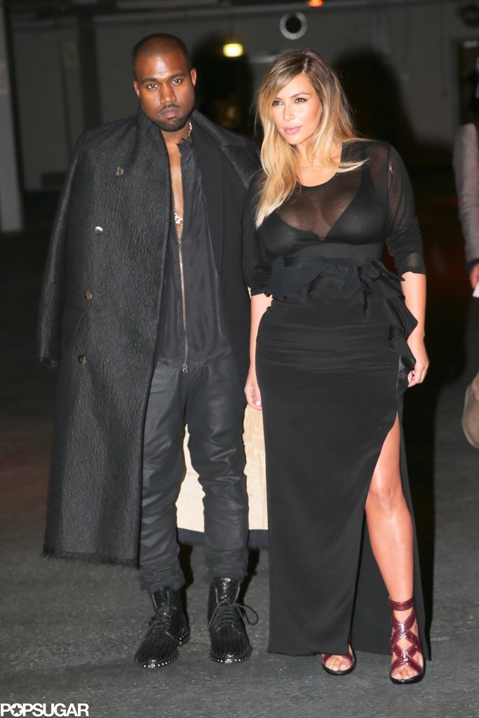 Kim and Kanye Make It Official