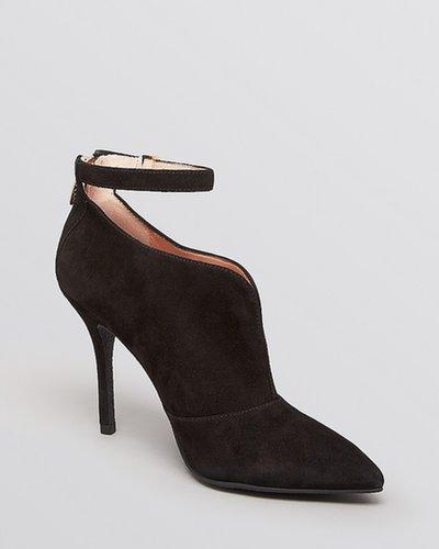 Enzo Angiolini Pointed Toe Booties - Pamla High Heel