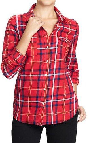 Women's Plaid Flannel Shirts
