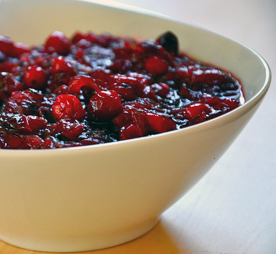Cranberry Sauce With Caramelized Onions
