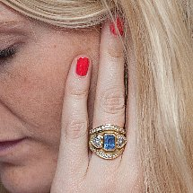 Poppy Delevingne Shows Off Her Engagement Ring