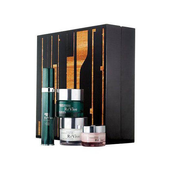 """Want someone to feel like a Park Avenue princess? For the ultimate in pampering, treat your giftee to the RéVive Artbox 11 ($575). The packaging is actually the star of this present. It's inspired by the painting """"Fifth Street C11.67"""" by artist Caio Fonseca. Inside, you'll experience the ultimate in skin care luxury."""