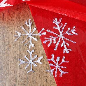 Hot-Glue-Gun Snowflakes