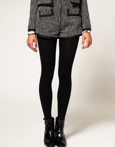 ASOS 120 Denier Black Tights