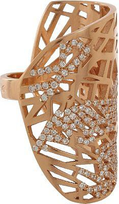 Gaia Repossi's elaborate baubles have been worn by everyone from Natalie Portman to Rihanna, and her rose gold phalanx ring ($9,890) is high on my list of eternal wants. Inspired by the art nouveau period, it boasts detailed angular cutouts and strategically set diamonds. It's so distinctive and detailed that it would take even the most basic outfit to the next level.  — Britt Stephens, assistant entertainment editor