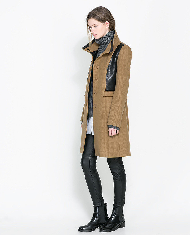 As far as I'm concerned, Winter can't officially begin until I have a new coat to wear. Enter this combined faux leather coat from Zara ($179), which is not only affordable, but sophisticated and beautifully tailored as well. I'll be topping off all of my cold-weather looks with this cool piece. — Britt Stephens, assistant entertainment editor