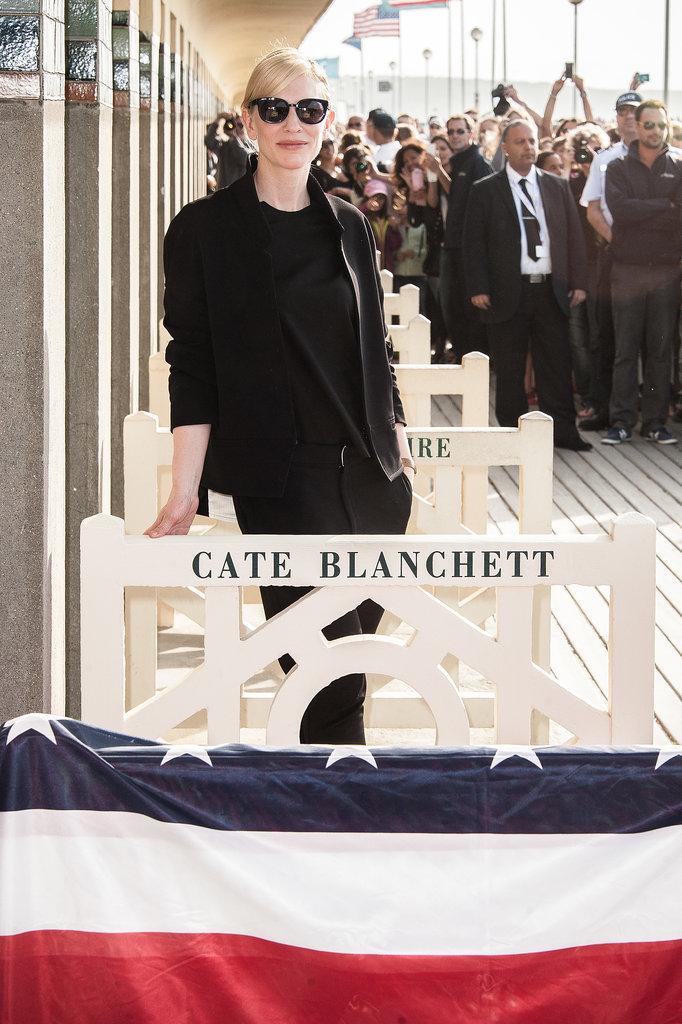 Cate Blanchett picked an all black option for the 39th Deauville Film Festival in 2013.