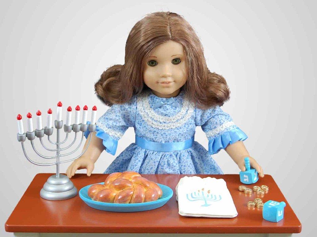 The Queen's Treasures Hanukkah Playset