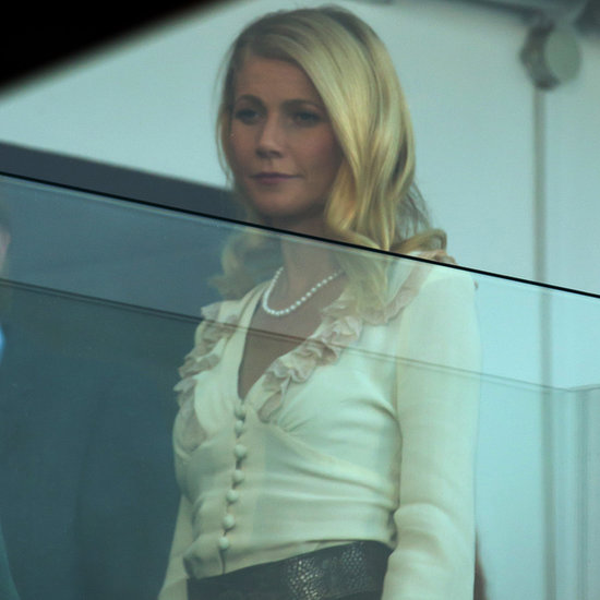 Gwyneth Paltrow and Ewan McGregor Filming Mortdecai