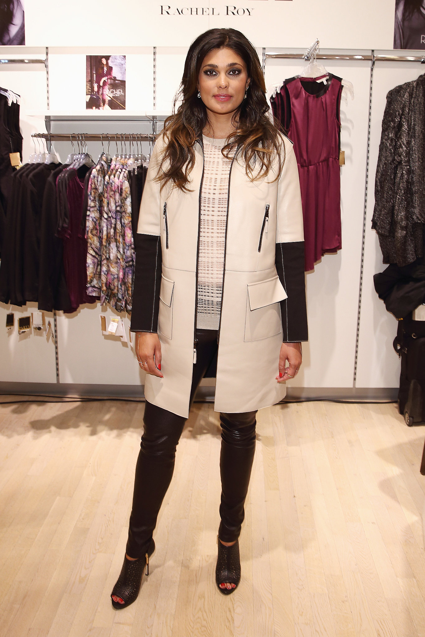 Rachel Roy at the Rachel Roy Collection presentation.