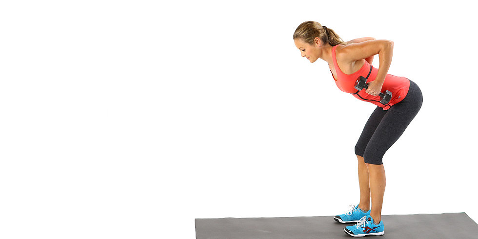 Tone Your Back, Stand Taller, and Look Better: Bent-Over Row