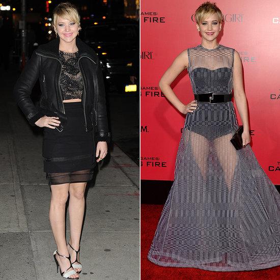 Jennifer Lawrence Catching Fire Premiere Dress