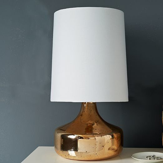 If gold can make your home more elegant, rose gold elevates things even further. The trendy hue makes West Elm's perch table lamp ($79)  so cool-looking while also being classic enough to have around for years. — Shannon Vestal, TV and movies editor